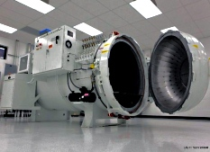 an American Autoclave Company manufactured system for US-F1 Team Racing